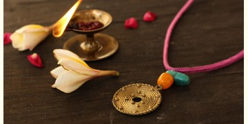 आराधना | Aradhana ✺ Brass Necklace { 9 }