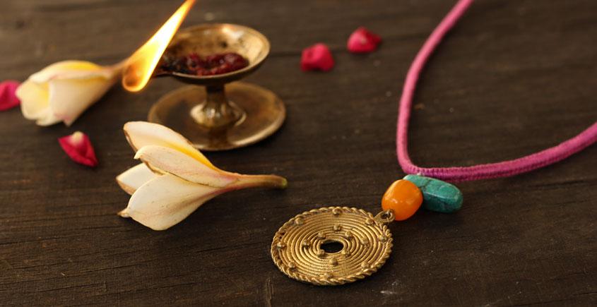 आराधना   Aradhana ✺ Brass Necklace { 9 }