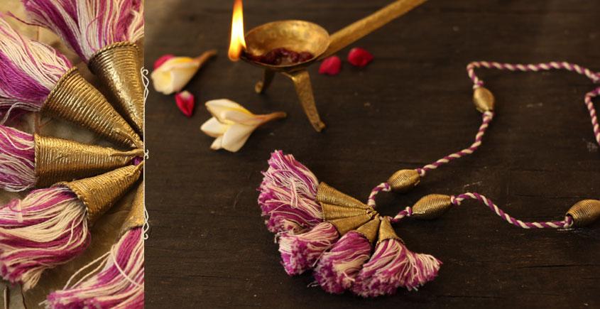 आराधना | Aradhana ✺ Brass Necklace { 14 }