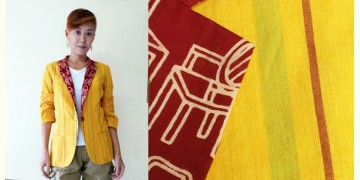 Expressway ❆ Blazer Jacket - Warm Stripe (Yellow) ~ 10