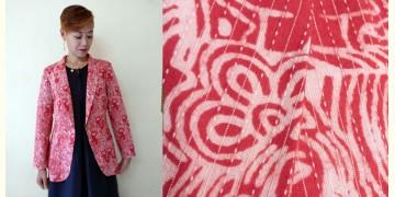 Expressway ❆ Blazer Jacket - Woman Print Kantha (Red) ~ 19