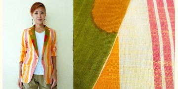 Expressway ❆ Blazer Jacket - Cool Stripe (Orange) ~ 24