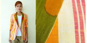 Expressway ❆ Blazer Jacket - Cool Stripe (Orange) ~ 24