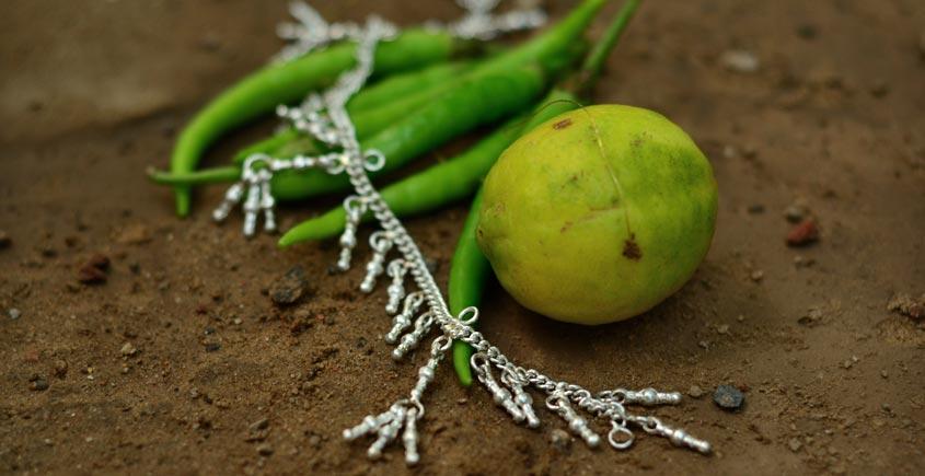 Silver Jewelry ~ Kanchali