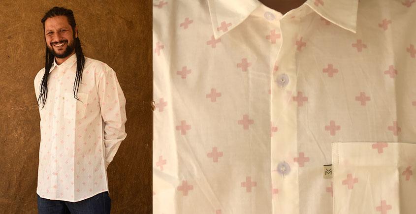 रंगरेज / Rangrez ❂ Block Printed . Fine Cotton Shirt ❂ 2