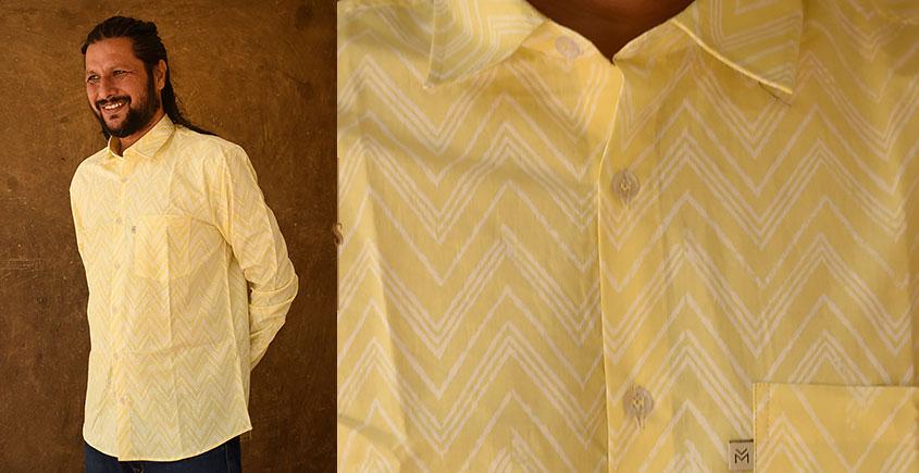 रंगरेज / Rangrez ❂ Block Printed . Fine Cotton Shirt ❂ 3