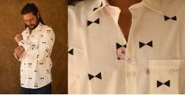 रंगरेज / Rangrez ❂ Block Printed . Fine Cotton Shirt ❂ 5