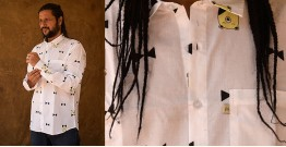 रंगरेज / Rangrez ❂ Block Printed . Fine Cotton Shirt ❂ 6
