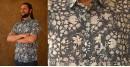 रंगरेज / Rangrez ❂ Block Printed . Fine Cotton Shirt ❂ 7