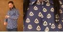 रंगरेज / Rangrez ❂ Block Printed . Fine Cotton Shirt ❂ 10