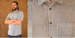 रंगरेज / Rangrez ❂ Block Printed . Fine Cotton Shirt ❂ 14