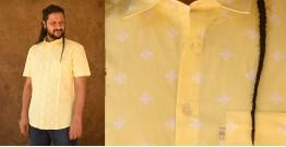 रंगरेज / Rangrez ❂ Block Printed . Fine Cotton Shirt ❂ 16