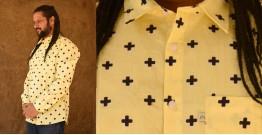 रंगरेज / Rangrez ❂ Block Printed . Fine Cotton Shirt ❂ 17