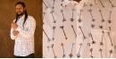 रंगरेज / Rangrez ❂ Block Printed . Fine Cotton Shirt ❂ 18