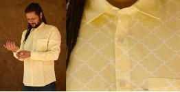 रंगरेज / Rangrez ❂ Block Printed . Fine Cotton Shirt ❂ 19