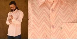 रंगरेज / Rangrez ❂ Block Printed . Fine Cotton Shirt ❂ 20