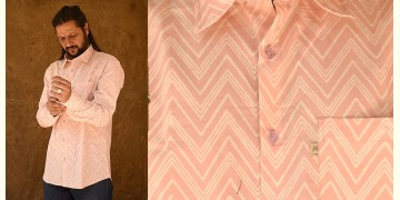 रंगरेज / Rangrez ❂ Block Printed . Fine Cotton Shirt ❂ 20