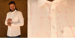 रंगरेज / Rangrez ❂ Block Printed . Fine Cotton Shirt ❂ 21