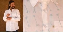 रंगरेज / Rangrez ❂ Block Printed . Fine Cotton Shirt ❂ 22