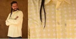 रंगरेज / Rangrez ❂ Block Printed . Fine Cotton Shirt ❂ 24
