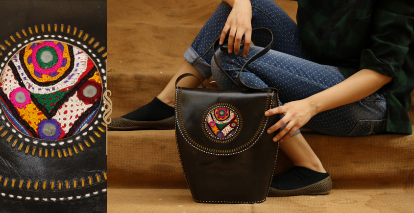 The nomad within me ♠ Kutchi Leather Bags { 20 }