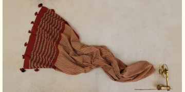 सैर ~ Bagru Printed Cotton Stole ☙ 7