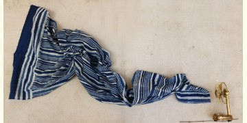 सैर ~ Dabu Printed Cotton Stole ☙ 11
