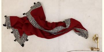 सैर ~ Block Printed Cotton Stole ☙ 1