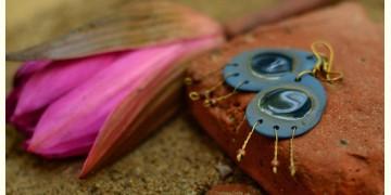 Ochre ~ Ceramic Jewellery Earing {12}
