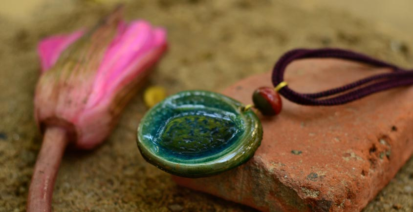 Ochre ~ Ceramic Jewellery  {1}