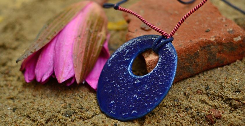 Ochre ~ Ceramic Jewellery  {8}