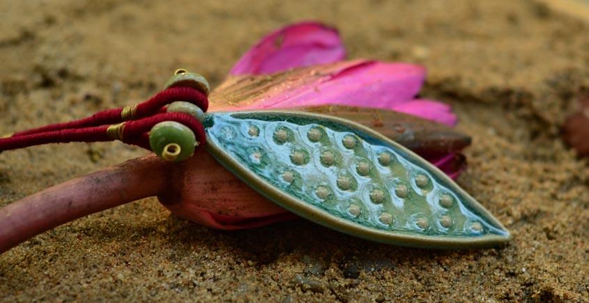 Ochre ~ Ceramic Jewellery  {11}