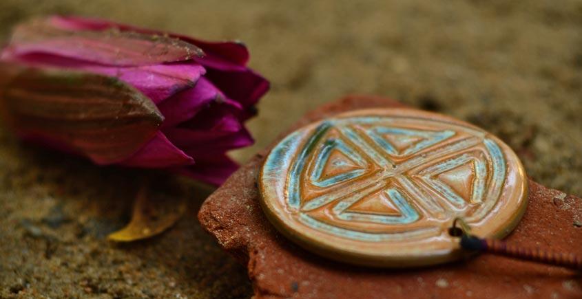 Ochre ~ Ceramic Jewellery  {18}