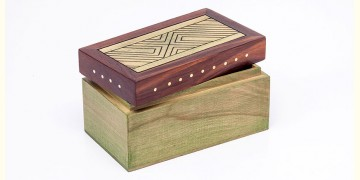 Organic Connect ❉ Tea box Wave Olive ❉ 12