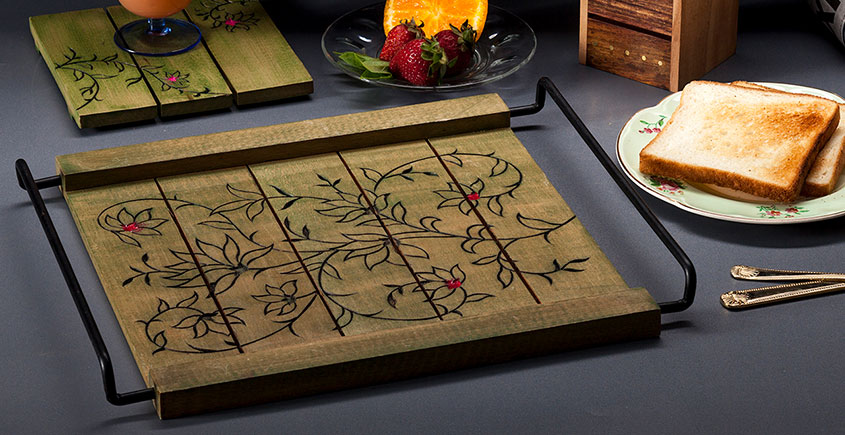 Organic Connect ❉ Chry MS Tray Olive ❉ 20