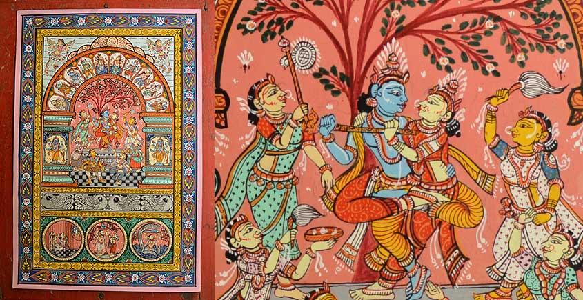 Pattachitra * Krishna Katha * B