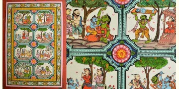 Pattachitra * Krishna Leela