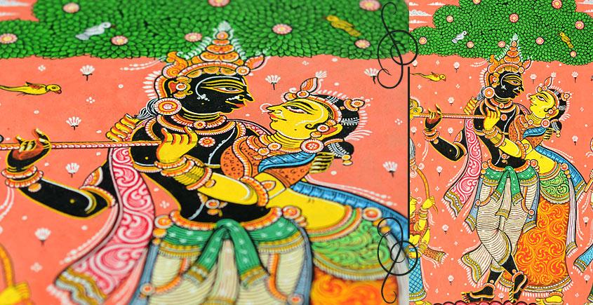 Krishana-Radha ~ Pattachitra