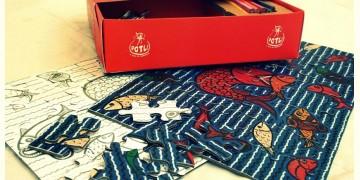 Potli ~ Jigsaw puzzle (Patua art)