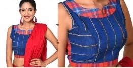 खेस ✥ Royal Blue Patchwork blouse ✥ 12
