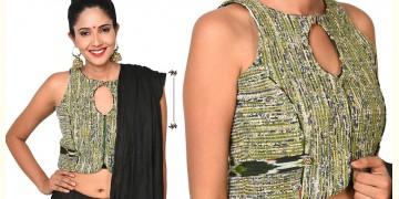 खेस ✥ Waistcoat style khesh blouse ✥ 13