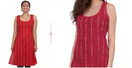 खेस ✥ Red khesh short tunic ✥ k