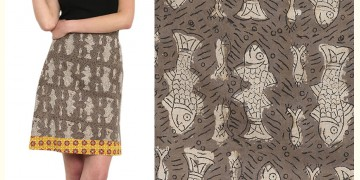 Ireene ✥ Block Printed . Skirt ✥ 34
