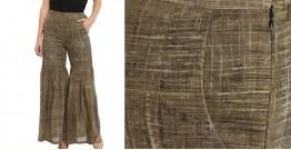 Ireene ✥ Block Printed . Sharara Pants ✥ 32