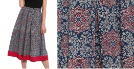 Ireene ✥ Block Printed . Skirt ✥ 38
