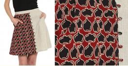 Ireene ✥ Block Printed . Skirt ✥ 39