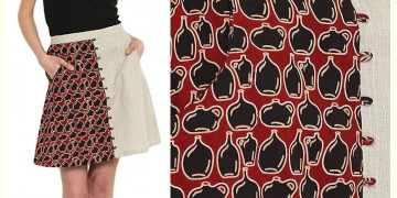 Ireene ✥ Block Printed . Skirt ✥ 39