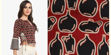 Ireene ✥ Block Printed . Blouse ✥ 28