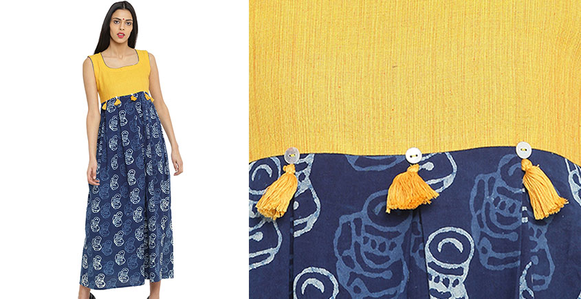 Ireene ✥ Block Printed . Dress ✥ 2