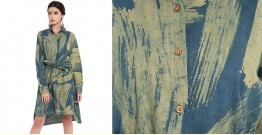 Ireene ✥ Abstract Ajrakh Printed . Shirt Dress ✥ 7